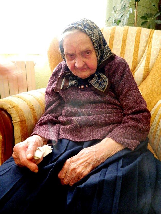 Máriu Mihňákovú z Kurimy pochovali začiatkom decembra. Mala 105 rokov