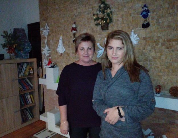 Psychologička a pedagogička Zuzana Horváthová a Nikola