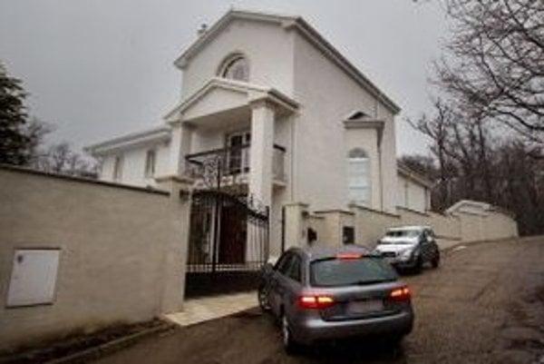 Malchárek býval v Borinke. Tento dom  je blízko centra mesta.