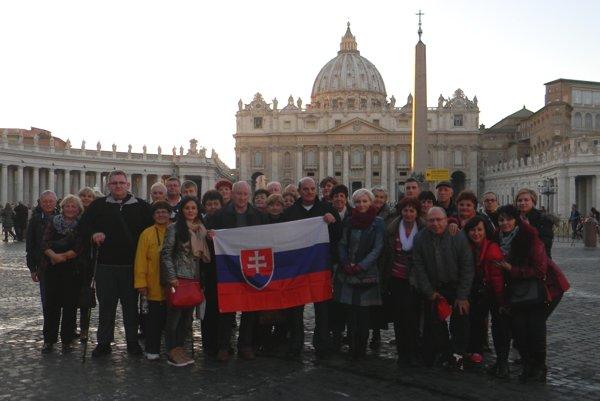 Skupina veriacich zo Slovenska si z Ríma priniesla mnoho zážitkov.