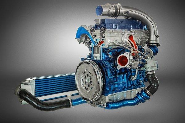 Ocenený 2,3-litrový štvorvalec z Fordu Focus RS