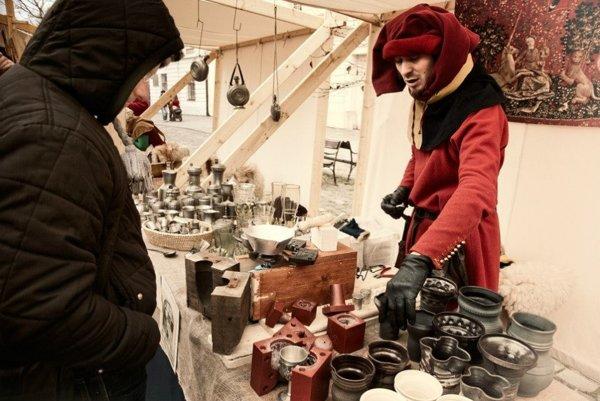 Stredoveké vianočné trhy sú len tri dni v roku.