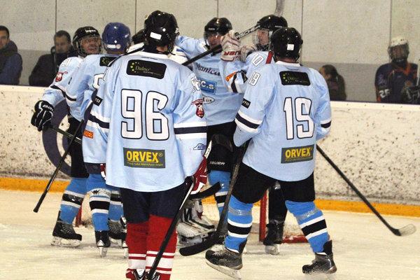 Hokejisti Slanice stratili doposiaľ iba jeden bod.