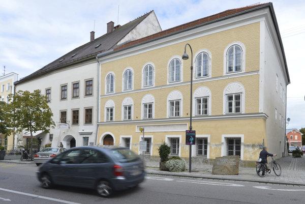 Rodný dom Adolfa Hitlera v rakúskom Braunau am Inn.