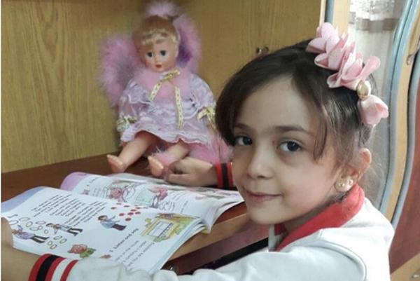 Bana Alabedová tweetovala z obliehaného východného Aleppa.