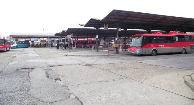 Stará časť stanice.