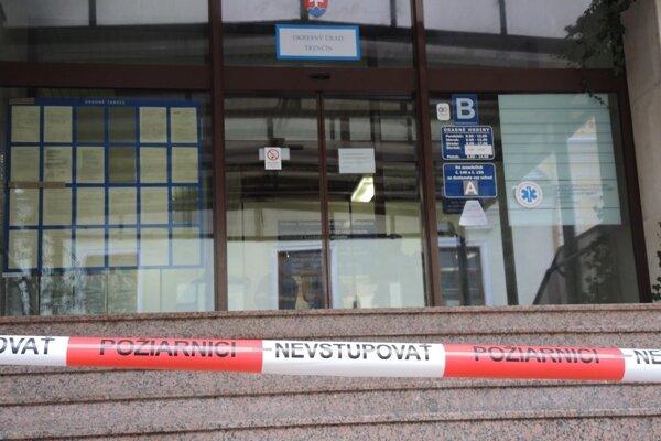 Okresný úrad v Trenčíne.