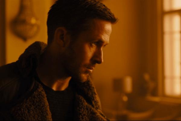 Ryan Gosling vo filme Blade Runner 2049.