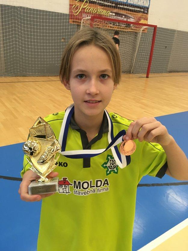 Najlepšia hráčka turnaja Izabela Bukovičová