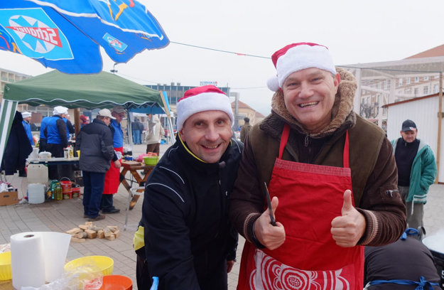 Primátor Peter Antal a jeho zástupca Ladislav Kukolík.