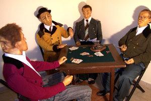 """Voskové figuríny zobrazujú skutočných ľudí, ktorí boli """"iní"""" ako zvyšok populácie."""