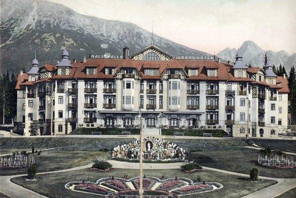 Grandhotel vStarom Smokovci stále patrí patril medzi špičku vbývalom Československu.