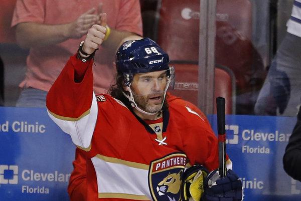 Jaromír Jágr je druhým najproduktívnejším hráčom NHL.