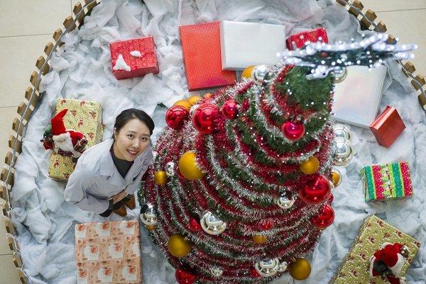Ah Hyeon Cheon alias Kristína trávi Vianoce doma v Kórei