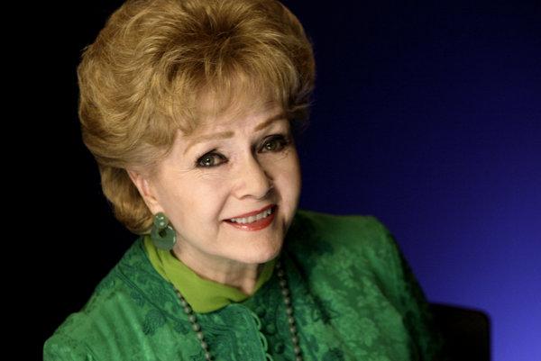 Herečka Debbie Reynoldsová.