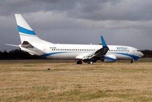 Boeing 737 spoločnosti Enter Air.