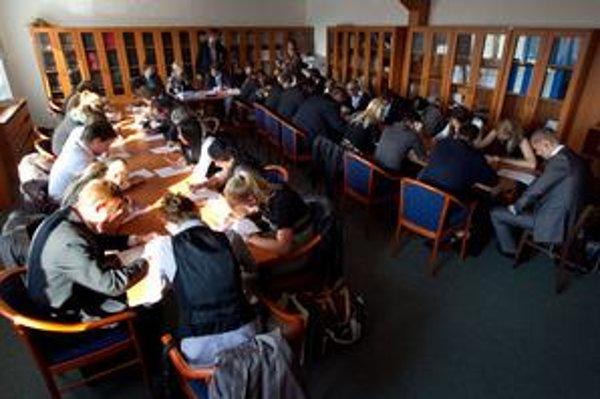 Víťazku vybrali na Okresnom súde Bratislava IV z 35 uchádzačov v štvorkolovom výbere.