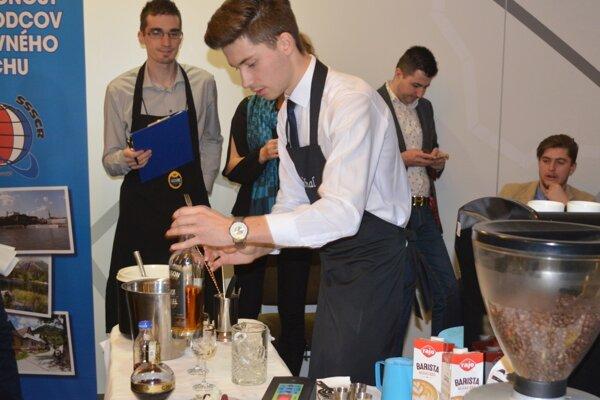 Michal Šuhajda bol v prípade nápojov z kávy v Leviciach najlepší.