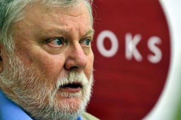 Predseda OKS Peter Zajac.