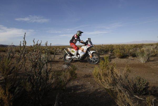 Ivan Jakeš ani tohtoročný Dakar nedokončí.