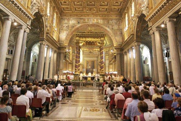 Bazilika patrí k najnavštevovanejším v Ríme.