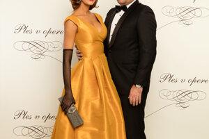 Jana Keketi s manželom