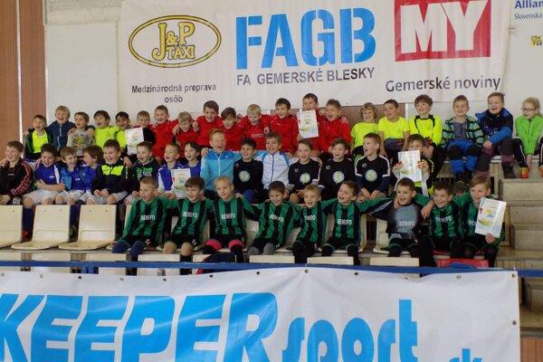 Zúčastnené tímy.
