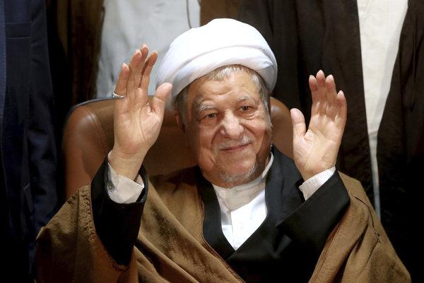 Alí Akbar Hášimí Rafsandžání.
