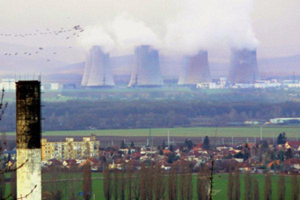 Elektráreň Jaslovské Bohunice.