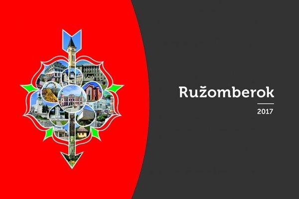 Nástenný mestský kalendár Ružomberok 2017.