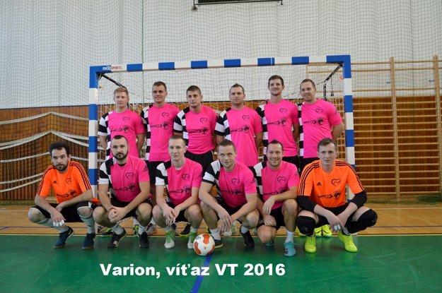 Varion - víťazi turnaja.