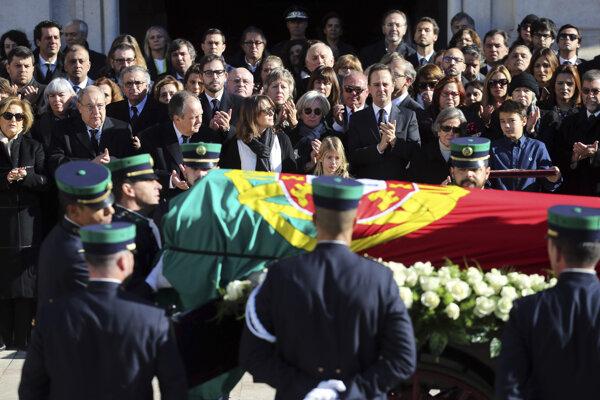 Soares je považovaný za otca portugalskej demokracie.