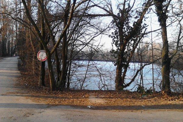 Chovný rybník v Kamennom Mlyne.