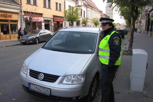 Mestskí policajti hľadali približne desať nových policajtov.