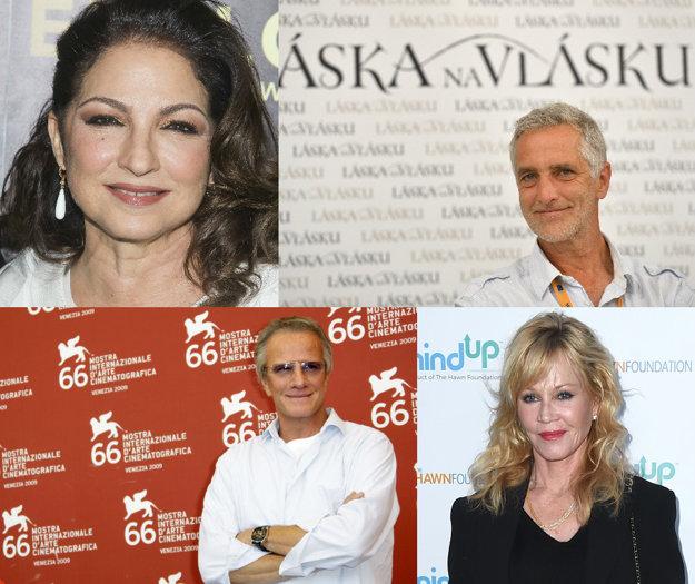 Gloria Estefan, Tomáš Hanák, Christopher Lambert, Melanie Griffith