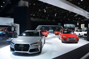 Stánok Audi