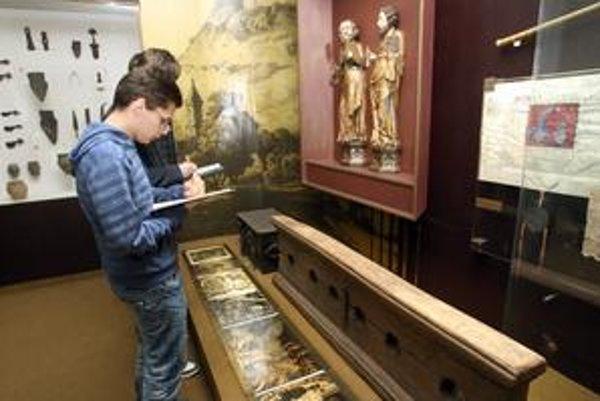 Vyučovanie v múzeu deti baví.