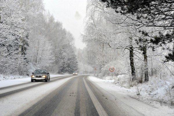 Cesty na východe Slovenska sú zjazdné.