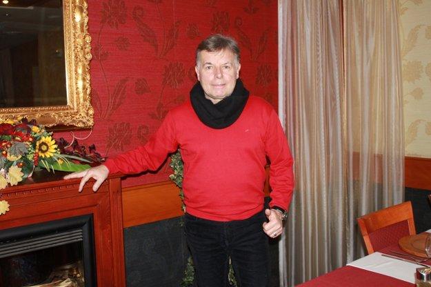 Oslávenec. Tibor Apa Egry si želá hlavne zdravie.