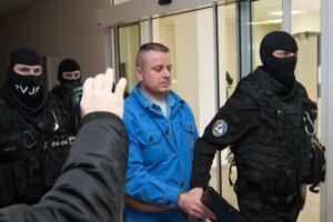 Štefan Sinička na Špecializovanom trestnom súde v Pezinku.