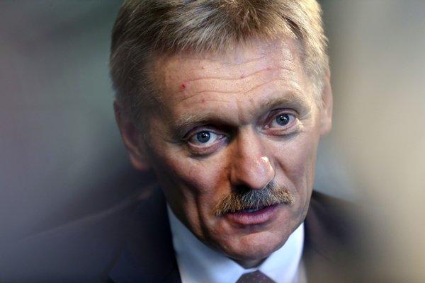 Dmitrij Peskov, hovorca Kremľa.