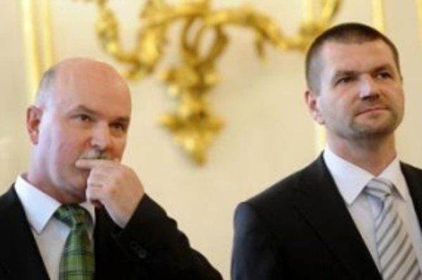 Igor Štefanov (vpravo) a Marián Janušek.