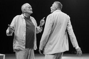 Starí majstri - Milan Lasica a Martin Huba.