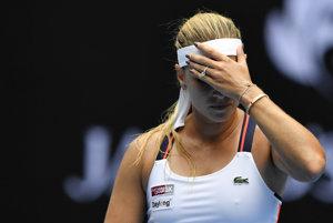 Dominika Cibulková vypadla na Australian Open 2017 v treťom kole.