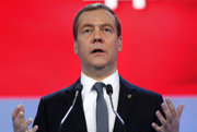 Ruský premiér Dmitrij Medvedev.