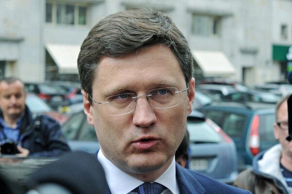 Ruský minister energetiky Alexander Novak