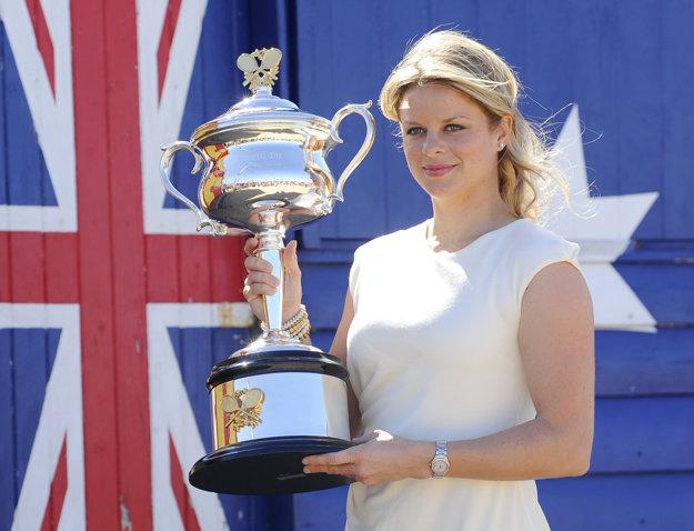 Kim Clijstersová je štvornásobnou grandslamovou šampiónkou.