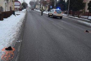 Smrteľná nehoda v Šaštín-Stráže