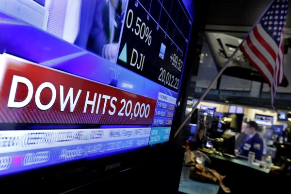 Index Dow Jones prekonal rekord.