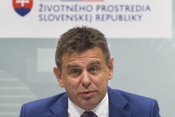 Minister životného prostredia SR László Sólymos.